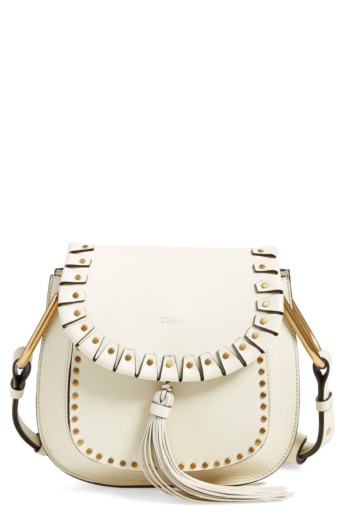 Main Image - Chloé 'Small Hudson' Studded Shoulder Bag