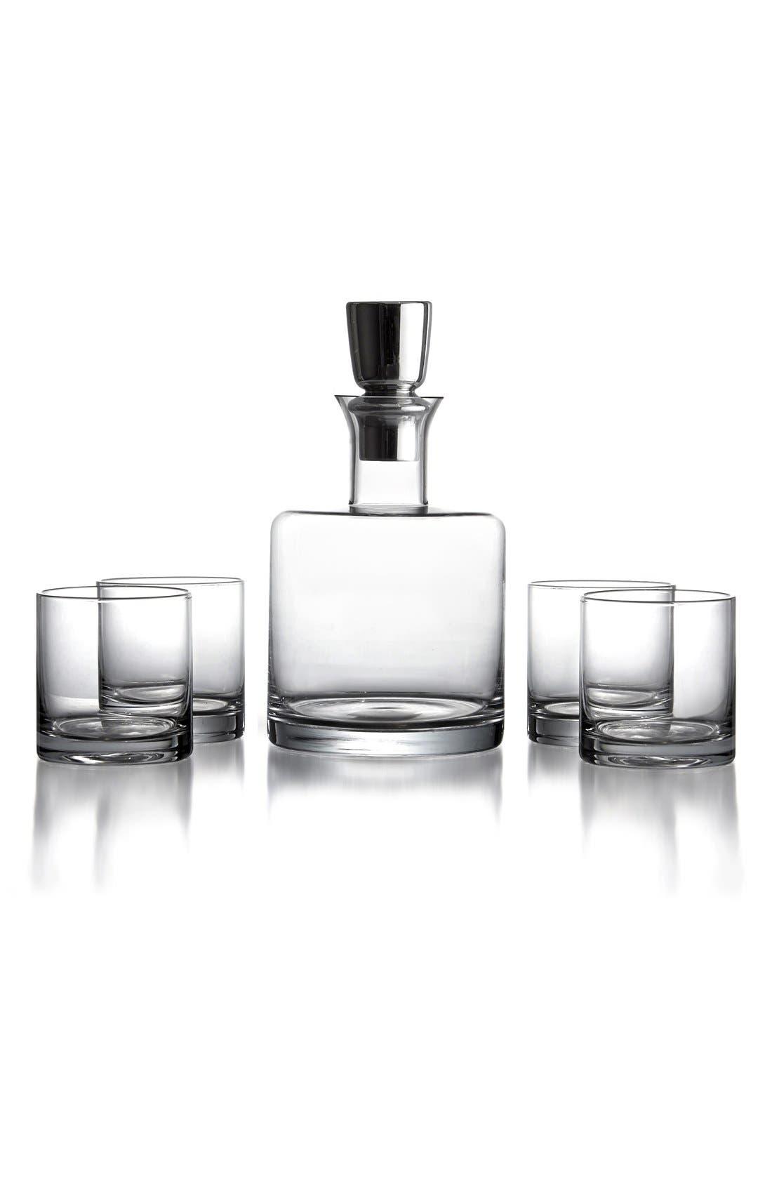 Main Image - American Atelier 'Linus' Decanter & Whiskey Glasses (5-Piece Set)