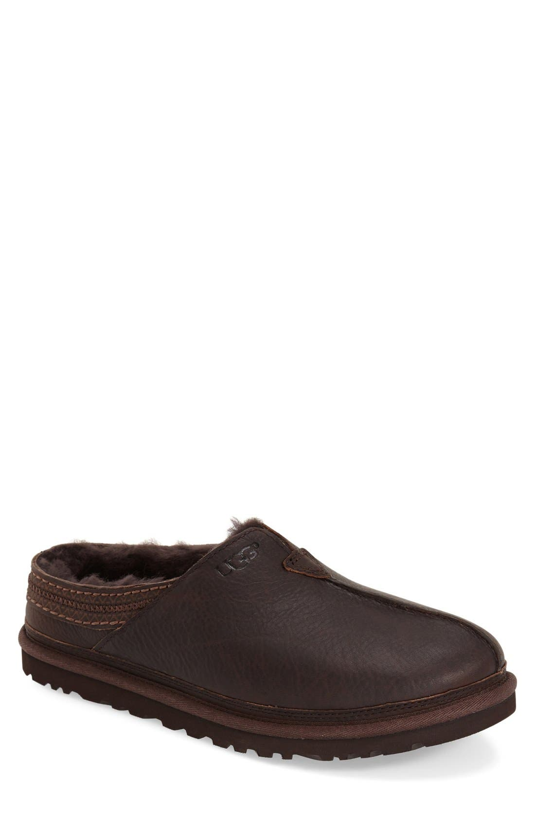 Alternate Image 1 Selected - UGG® Neuman Slipper (Men)