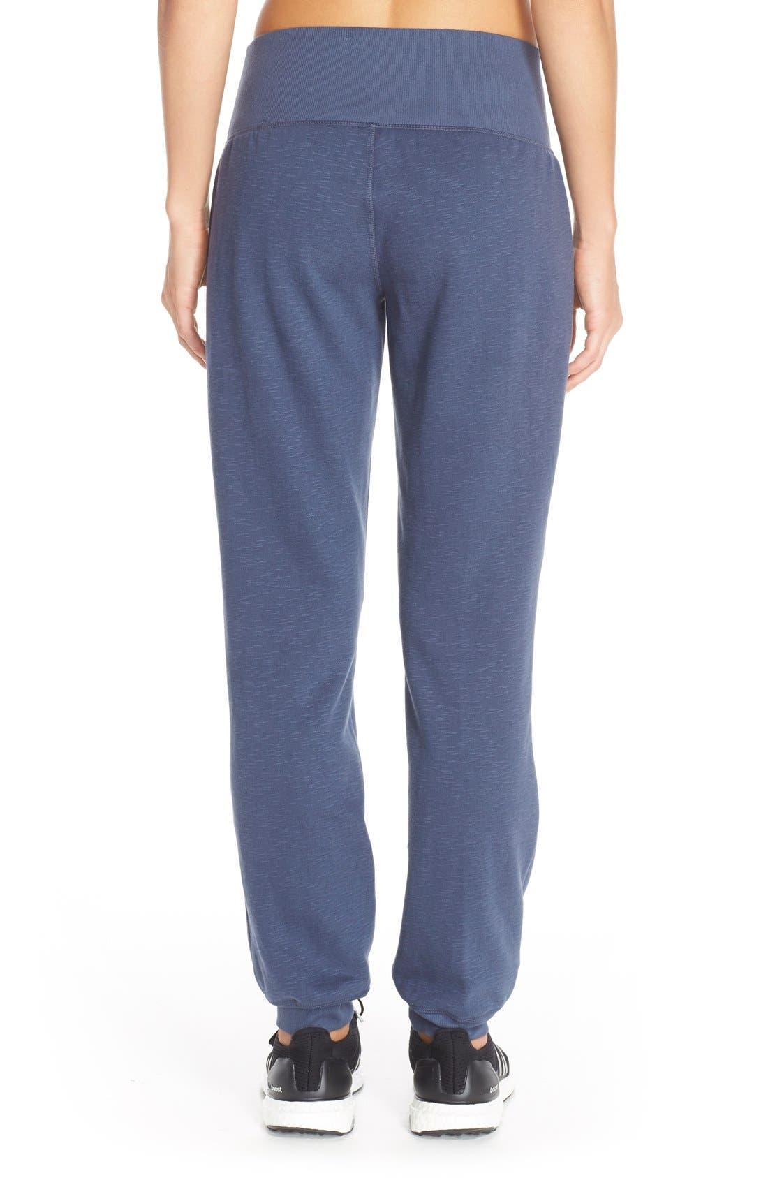 Alternate Image 2  - adidas 'Cozy' Fleece Jogger Pants