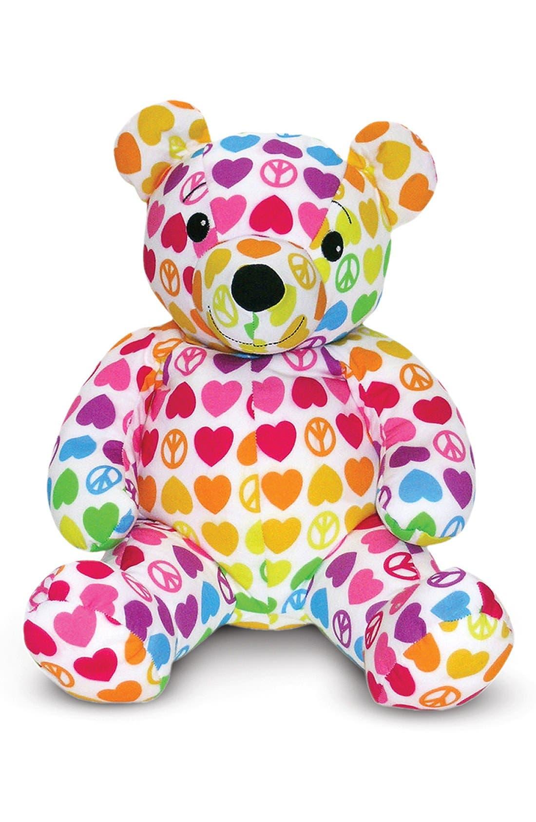 'Beeposh - Hope Bear' Plush Toy,                             Main thumbnail 1, color,                             Pink