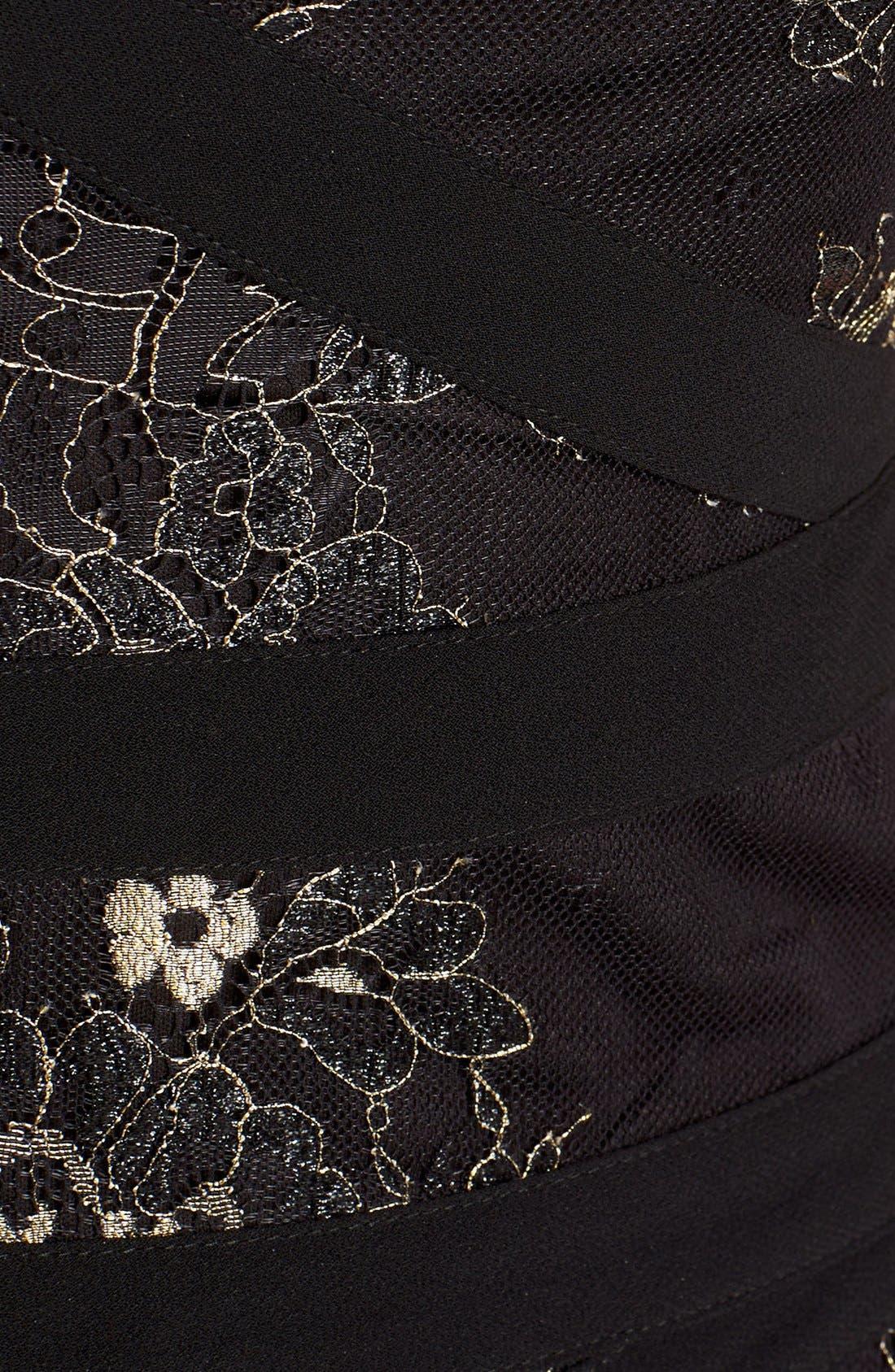 Alternate Image 2  - Alex Evenings Mock Dress (Regular & Petite)