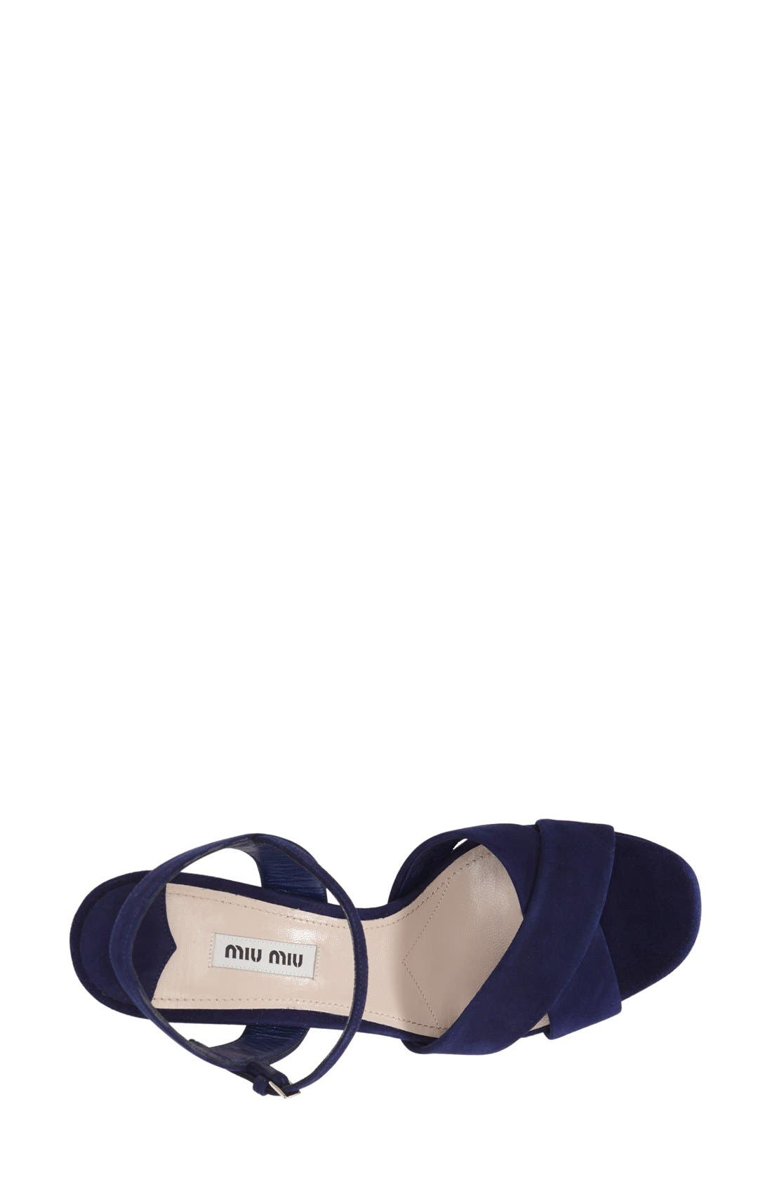 Alternate Image 3  - Miu Miu Platform Sandal (Women)