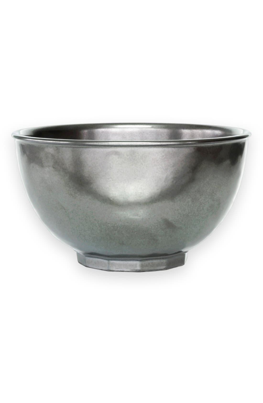Juliska 'Pewter' Ceramic Bowl