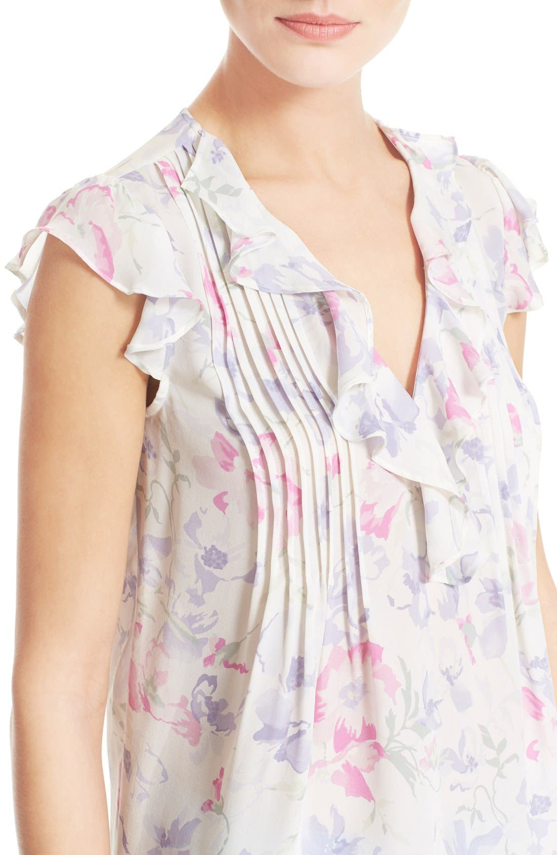 Alternate Image 4  - Joie 'Olvera' Floral Print Blouse