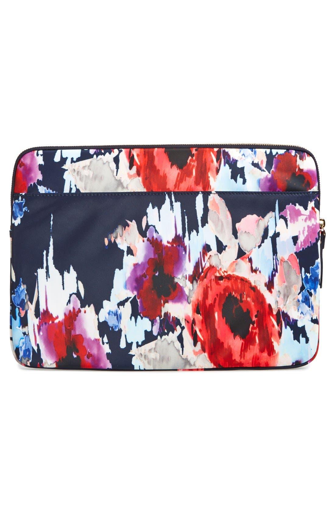 Alternate Image 2  - kate spade new york 'hazy floral' laptop sleeve (13 inch)