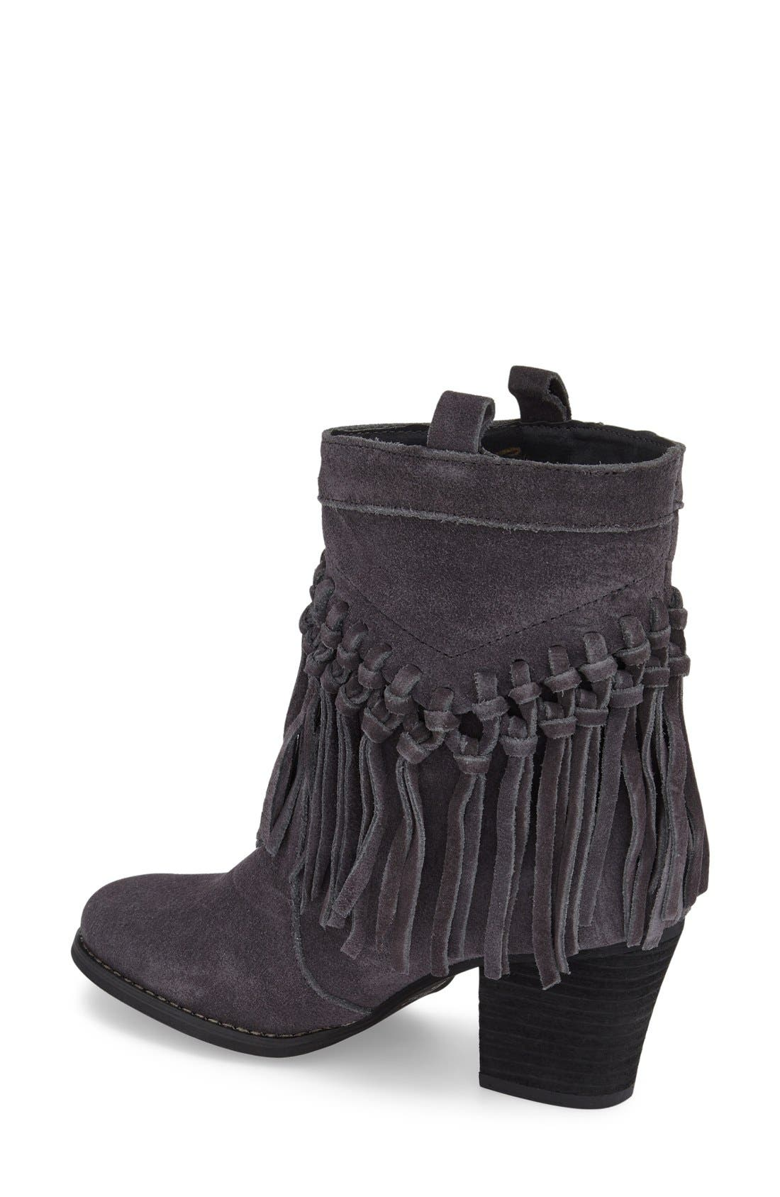 Alternate Image 2  - Sbicca 'Sound' Fringe Suede Bootie (Women)