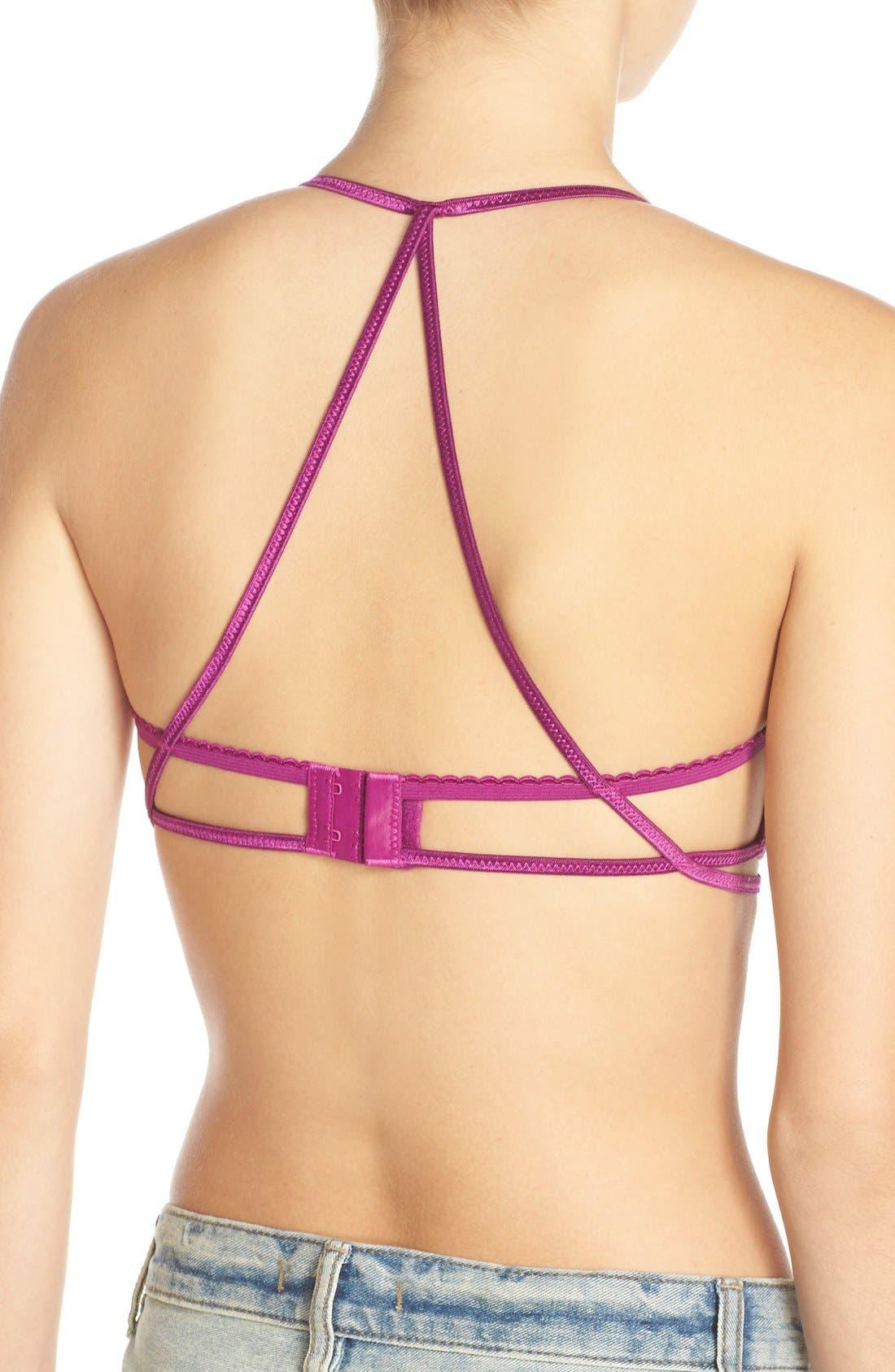 Alternate Image 2  - Free People 'Valentina' Cross Back Triangle Bralette