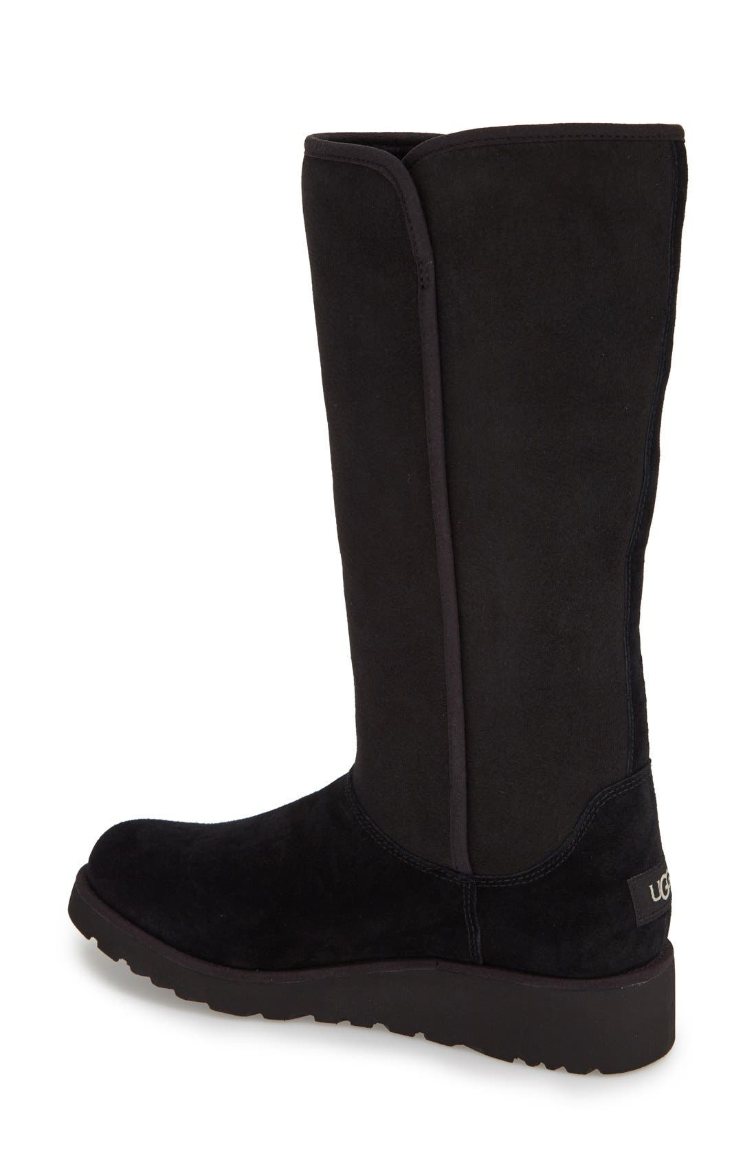 Alternate Image 2  - UGG® Kara - Classic Slim™ Water Resistant Tall Boot (Women)