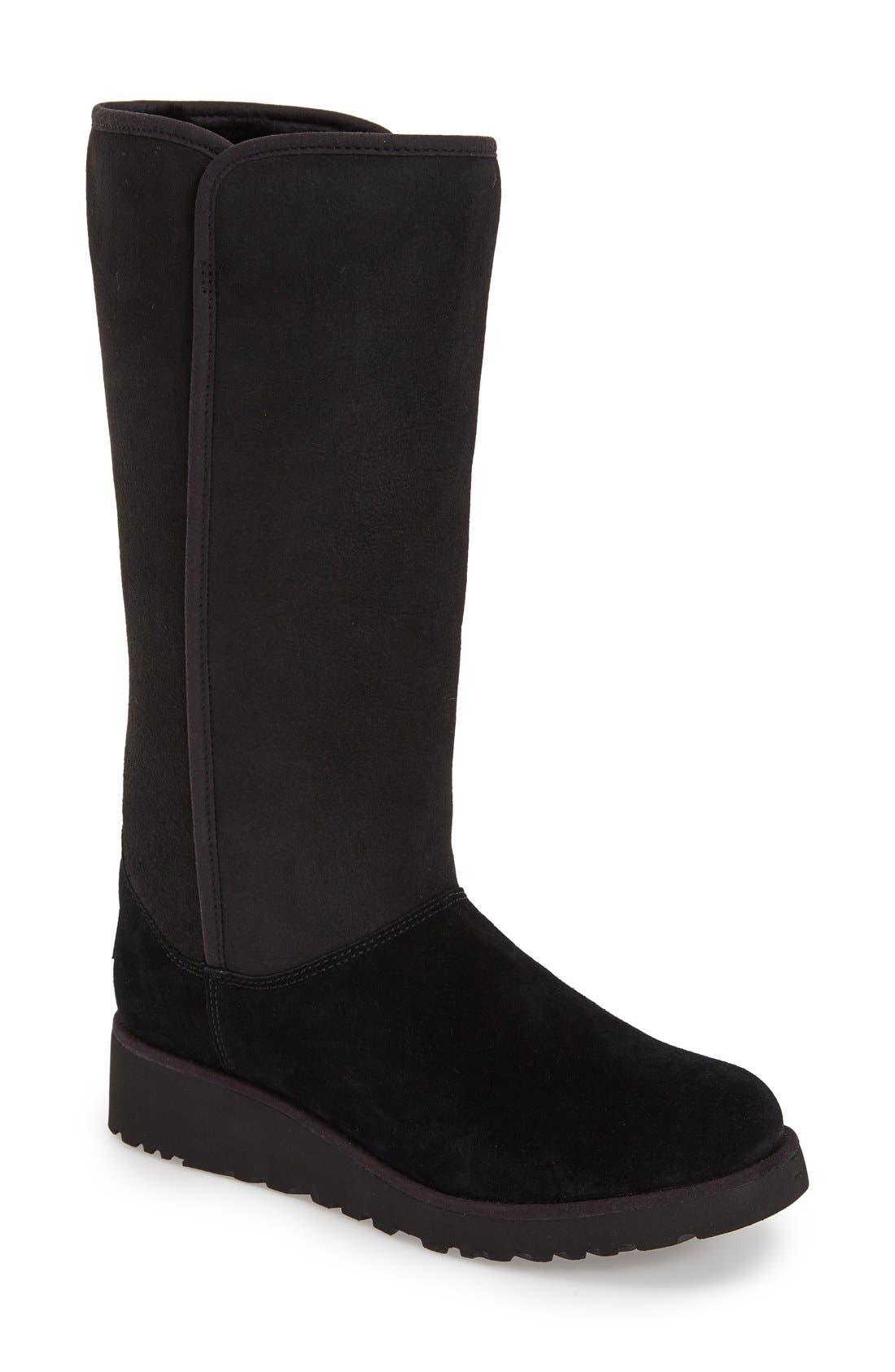 Main Image - UGG® Kara - Classic Slim™ Water Resistant Tall Boot (Women)
