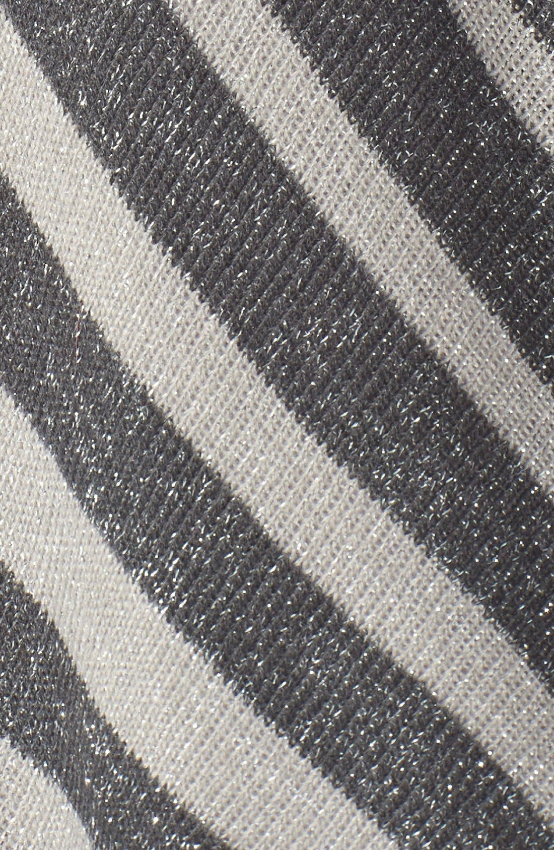 Stripe Shawl,                             Alternate thumbnail 3, color,                             Grey/ Ivory
