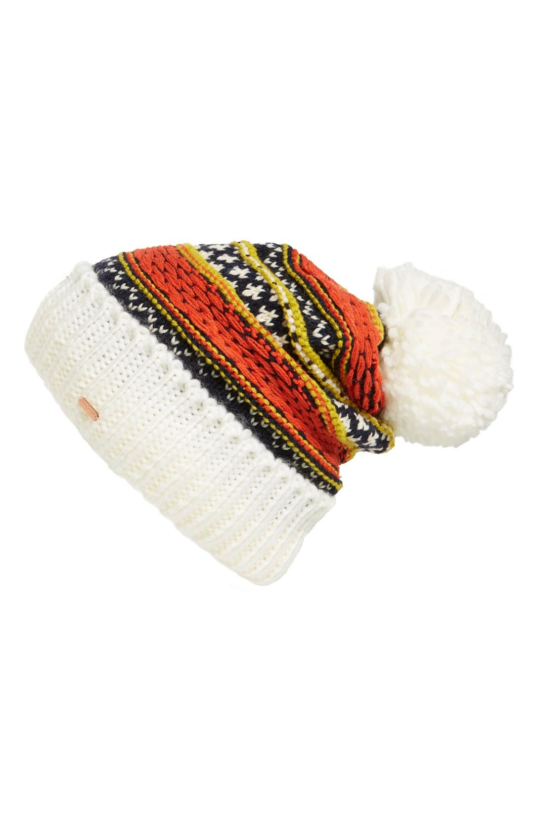 Alternate Image 1 Selected - Free People 'Snow Bound' Pompom Beanie