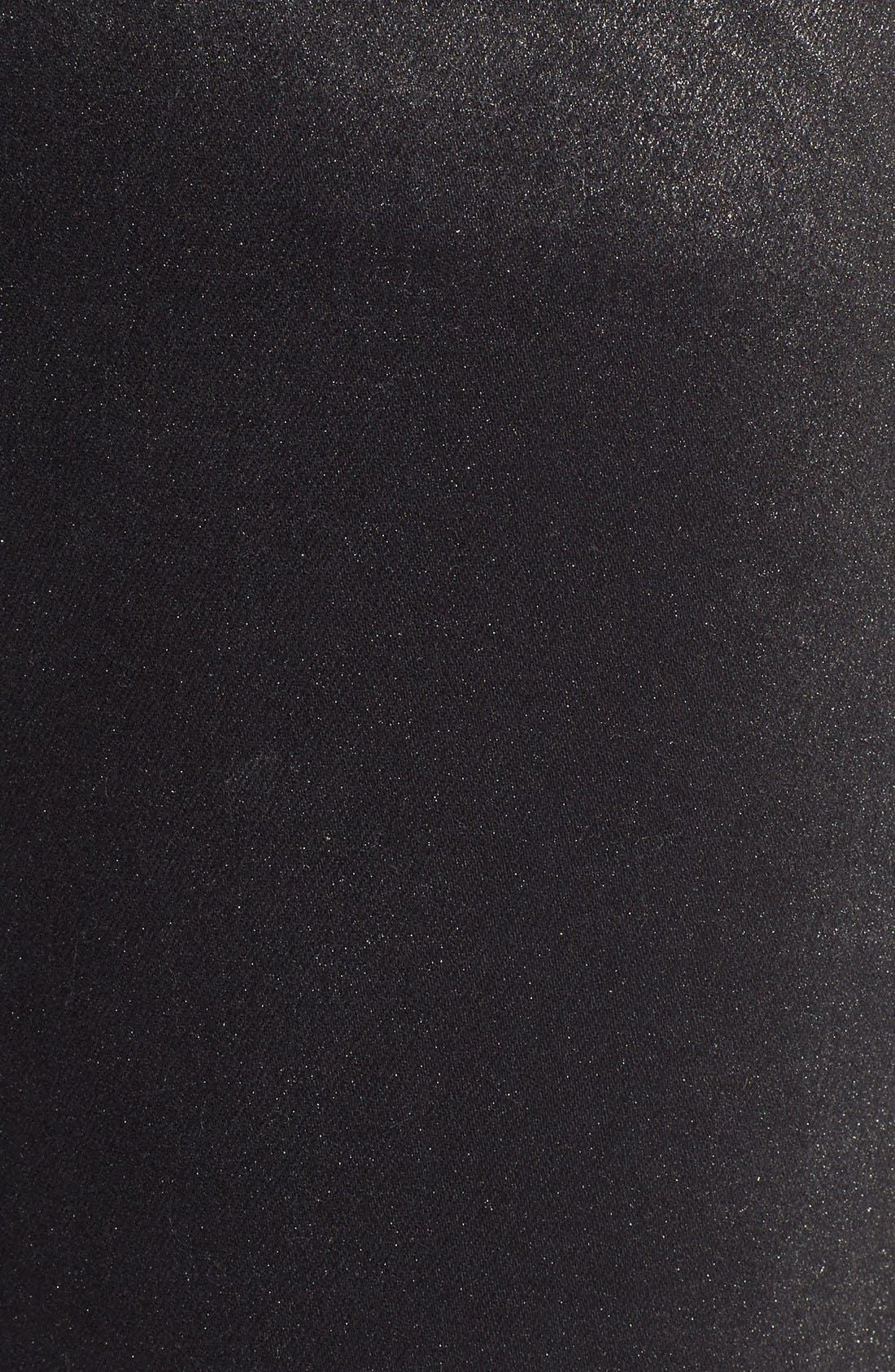 Alternate Image 5  - CJ by Cookie Johnson 'Wisdom' Brushed Foil Skinny Jeans (Pewter)