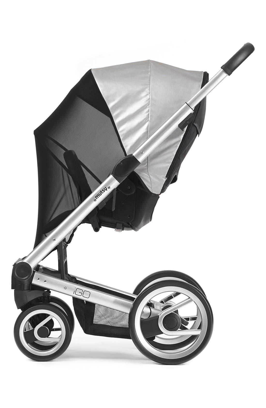 'Igo' Stroller Seat UV Cover,                         Main,                         color, Grey