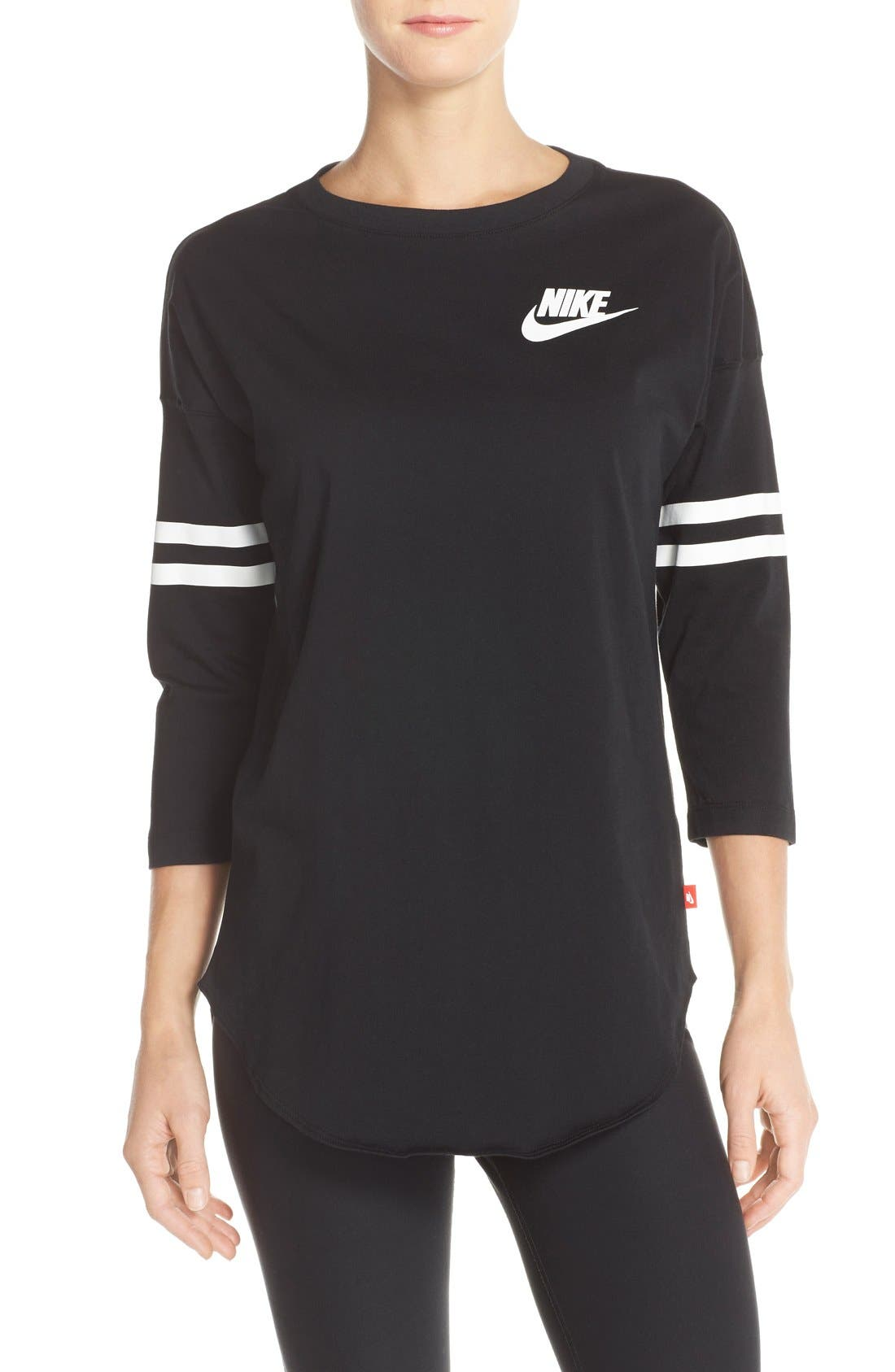Alternate Image 1 Selected - Nike 'Just Do It Spirit' Top