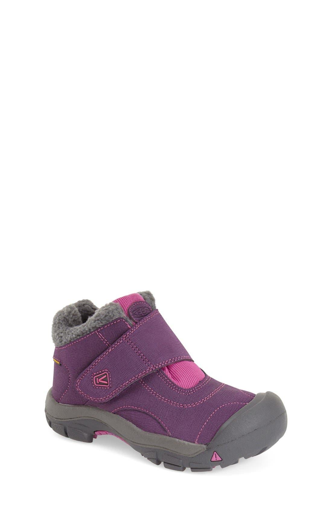 'Kootenay' Waterproof Winter Boot,                         Main,                         color, Wineberry/ Dahlia Mauve