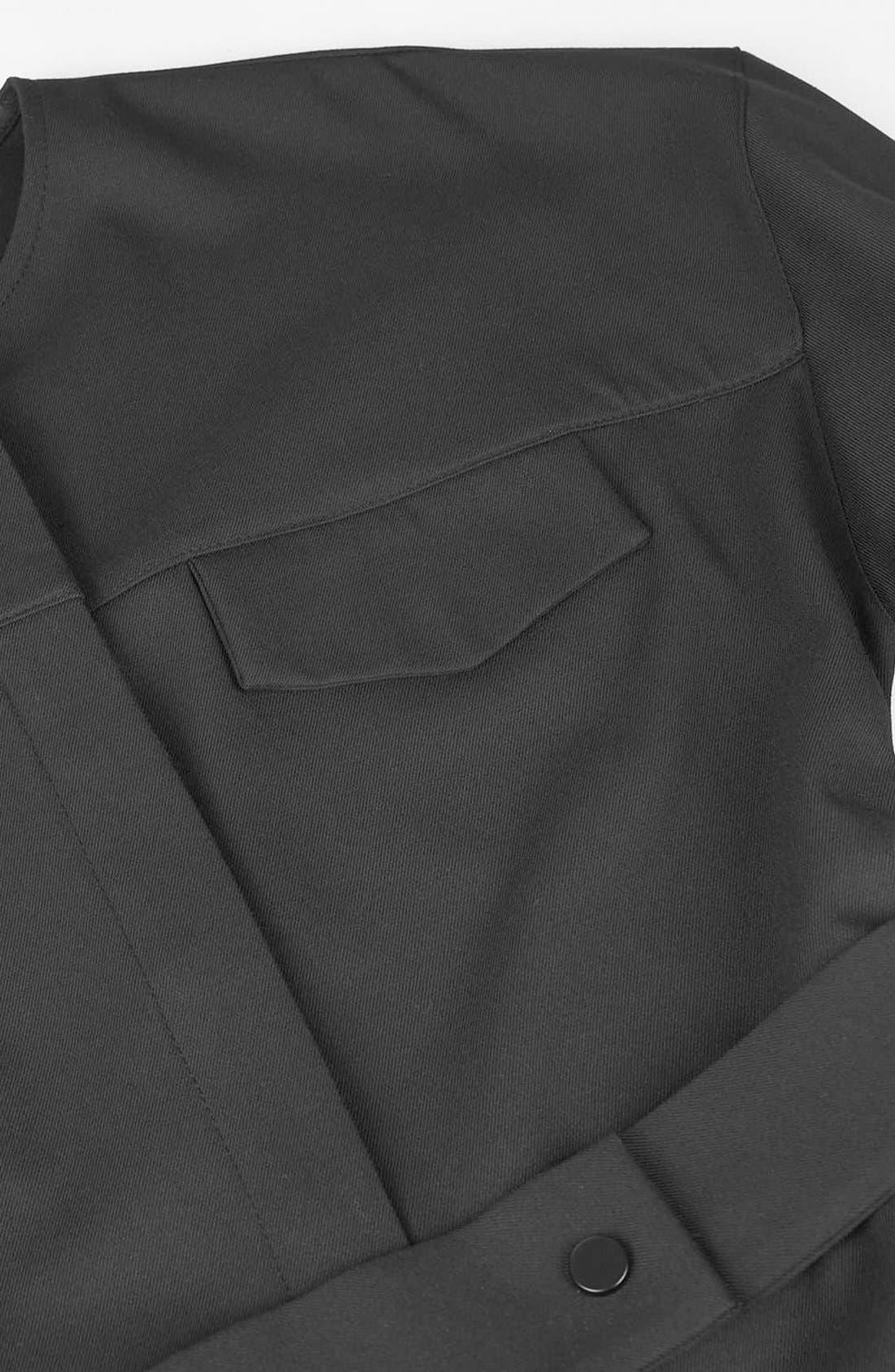 Alternate Image 6  - Topshop Boutique Tailored Jumpsuit