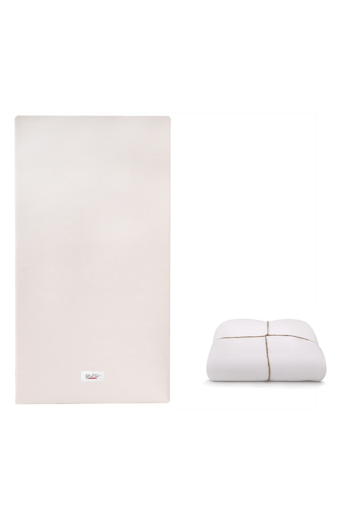Alternate Image 1 Selected - babyletto 'Coco Core' Nontoxic Crib Mattress & Water Repellent SMART Cover