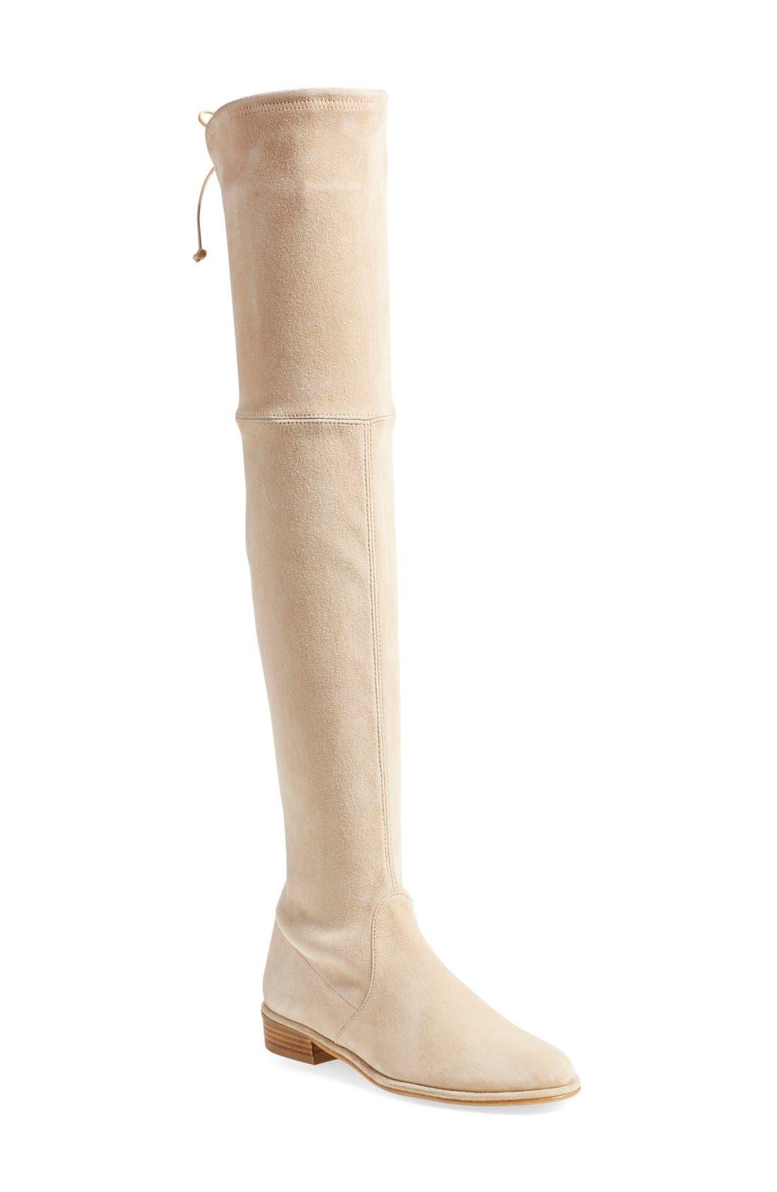 Main Image - Stuart Weitzman 'Lowland' Over the Knee Boot (Women)