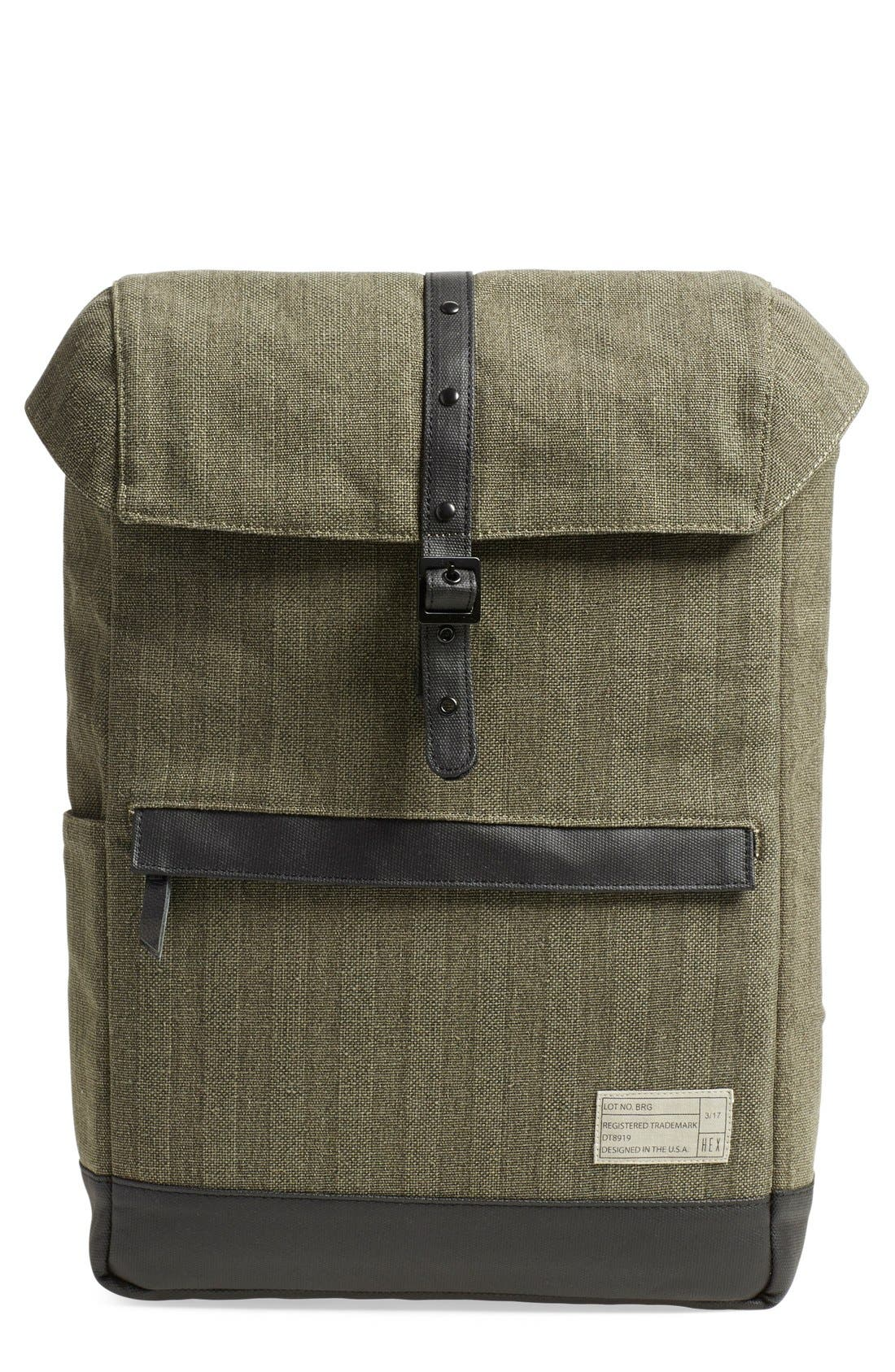Alternate Image 1 Selected - HEX 'Alliance' Water Resistant Backpack