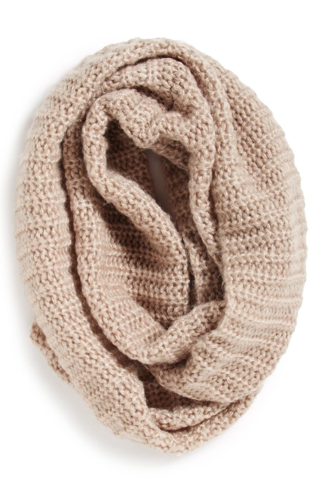 Alternate Image 1 Selected - Collection XIIX Ribbed Loop Scarf