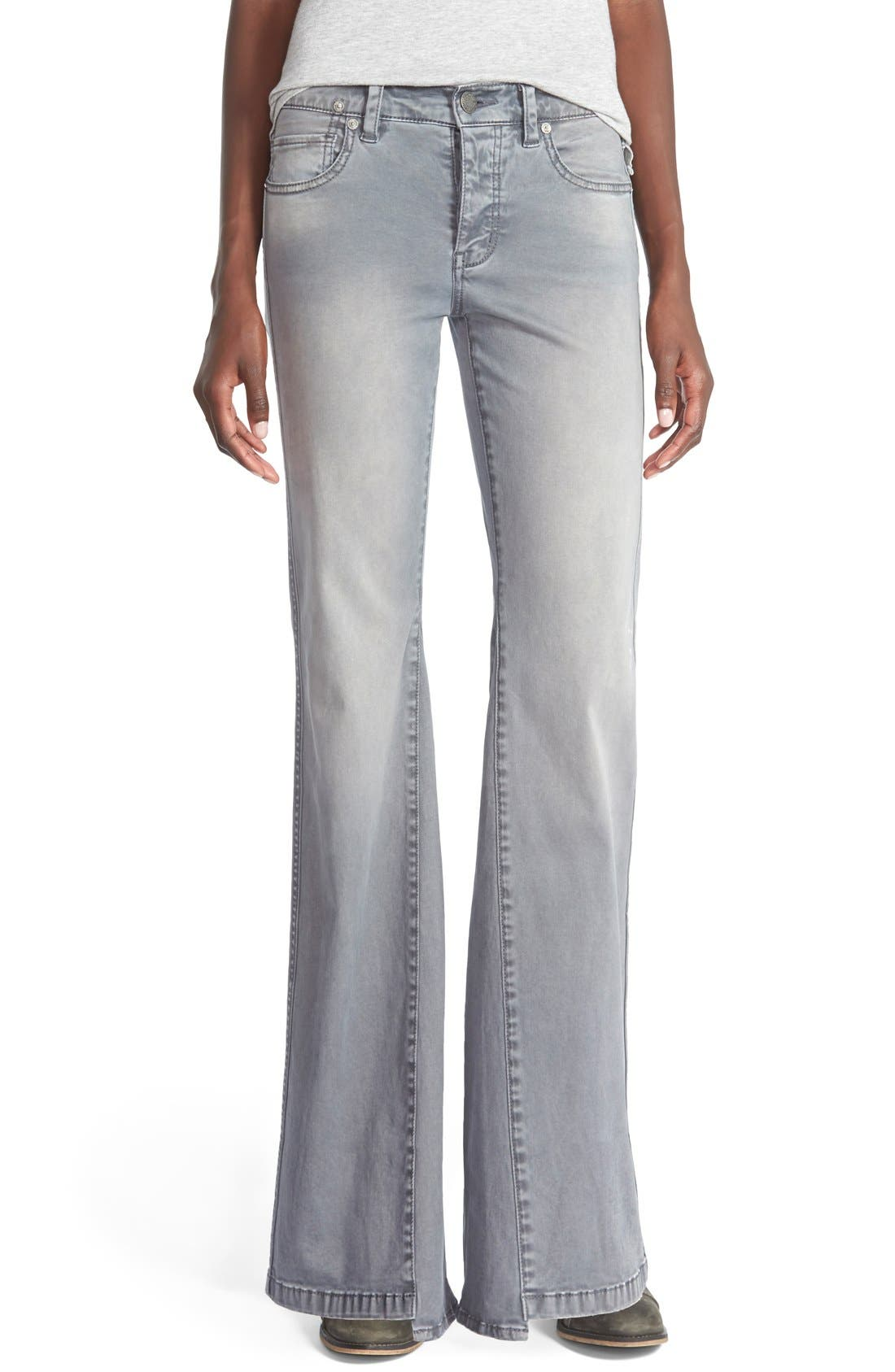 'Gold Coast' Flare Jeans,                         Main,                         color, Monterry