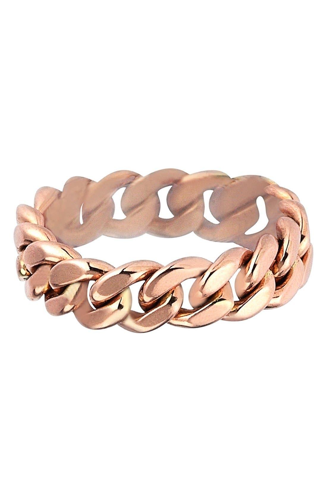 Main Image - kismet by milka 'Retro' Curb Chain Ring