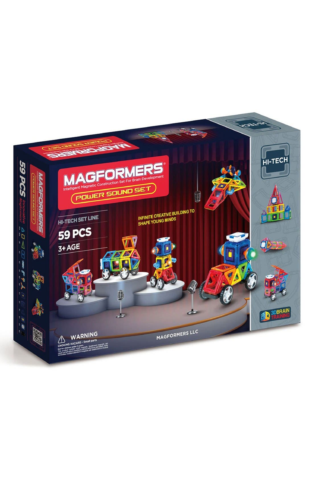Alternate Image 1 Selected - Magformers 'Power Sound' Magnetic Construction Set