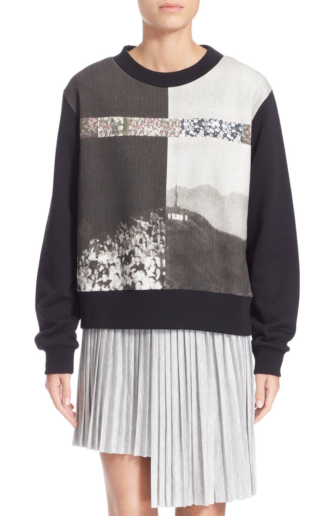 Alternate Image 1 Selected - MM6 Maison Margiela Photo Print Graphic Sweatshirt