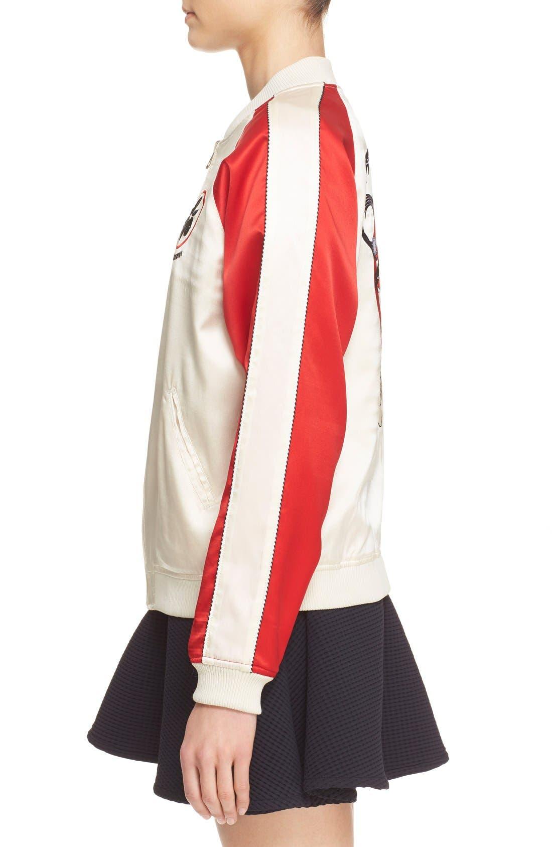 Alternate Image 3  - Opening Ceremony 'Yokai' Embroidered Reversible Bomber Jacket