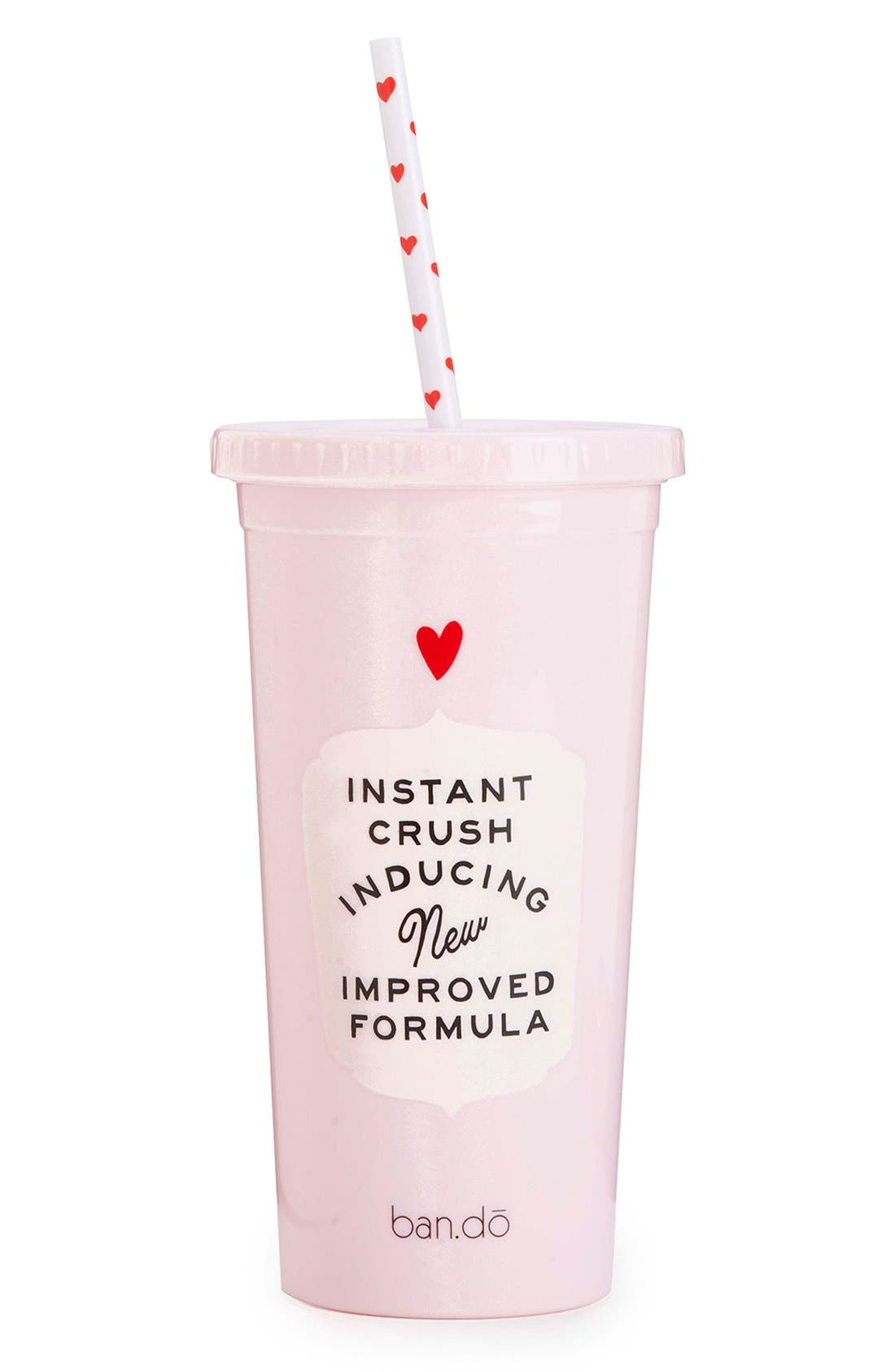 Alternate Image 2  - ban.do 'Love Potion Sip Sip' Travel Tumbler with Straw