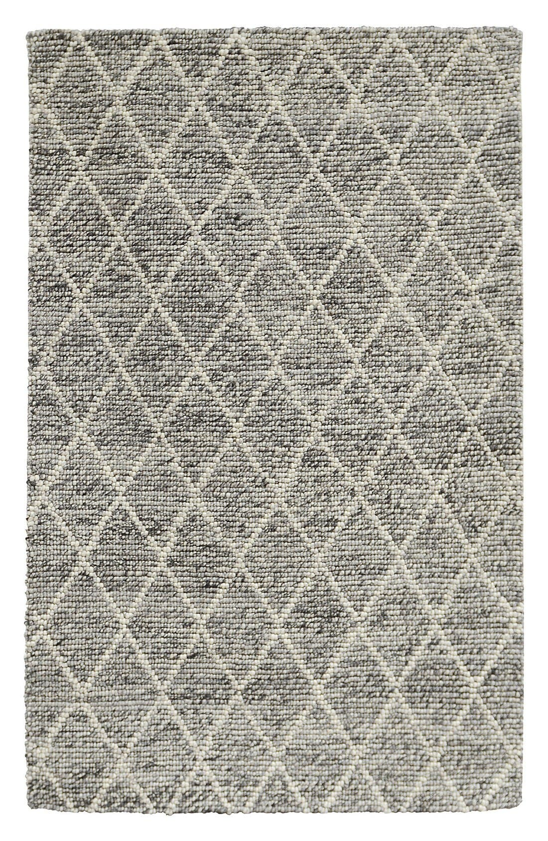 Hand Tufted Wool Rug,                         Main,                         color, Grey