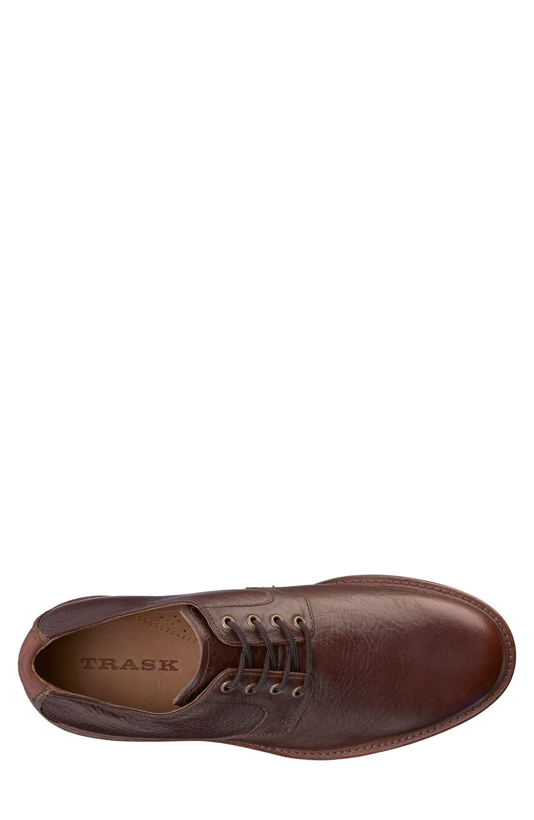 'Gallatin II' Oxford,                             Alternate thumbnail 3, color,                             Bourbon Leather