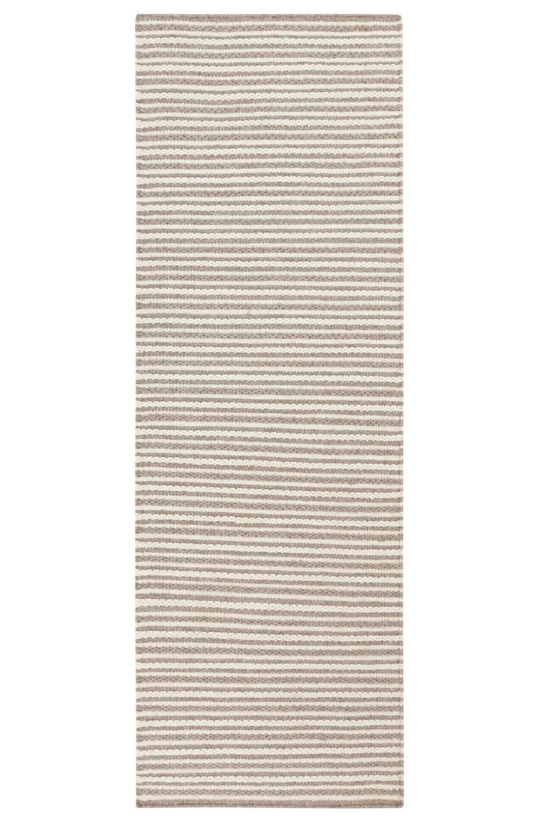 'Ravena' Wool Rug,                             Alternate thumbnail 2, color,                             Ivory/ Taupe