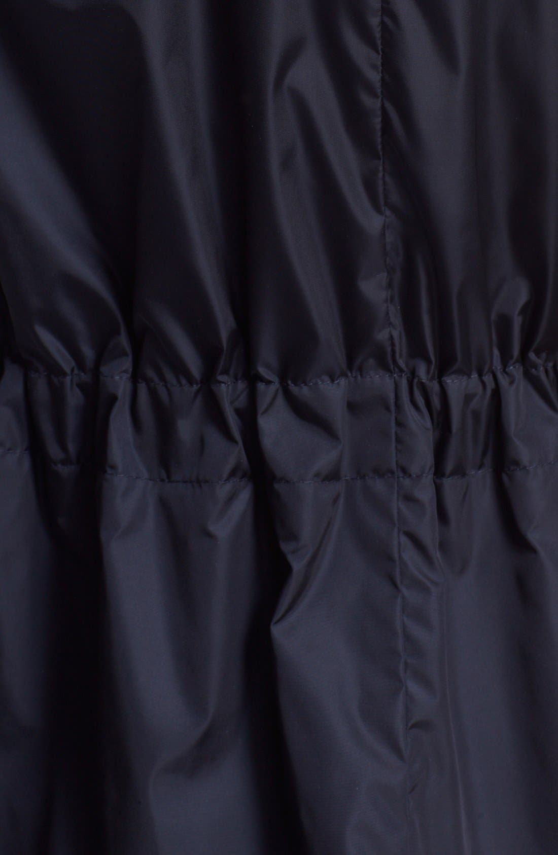 Alternate Image 3  - Moncler 'Limbert' Water Resistant Peplum Hem Hooded Rain Jacket