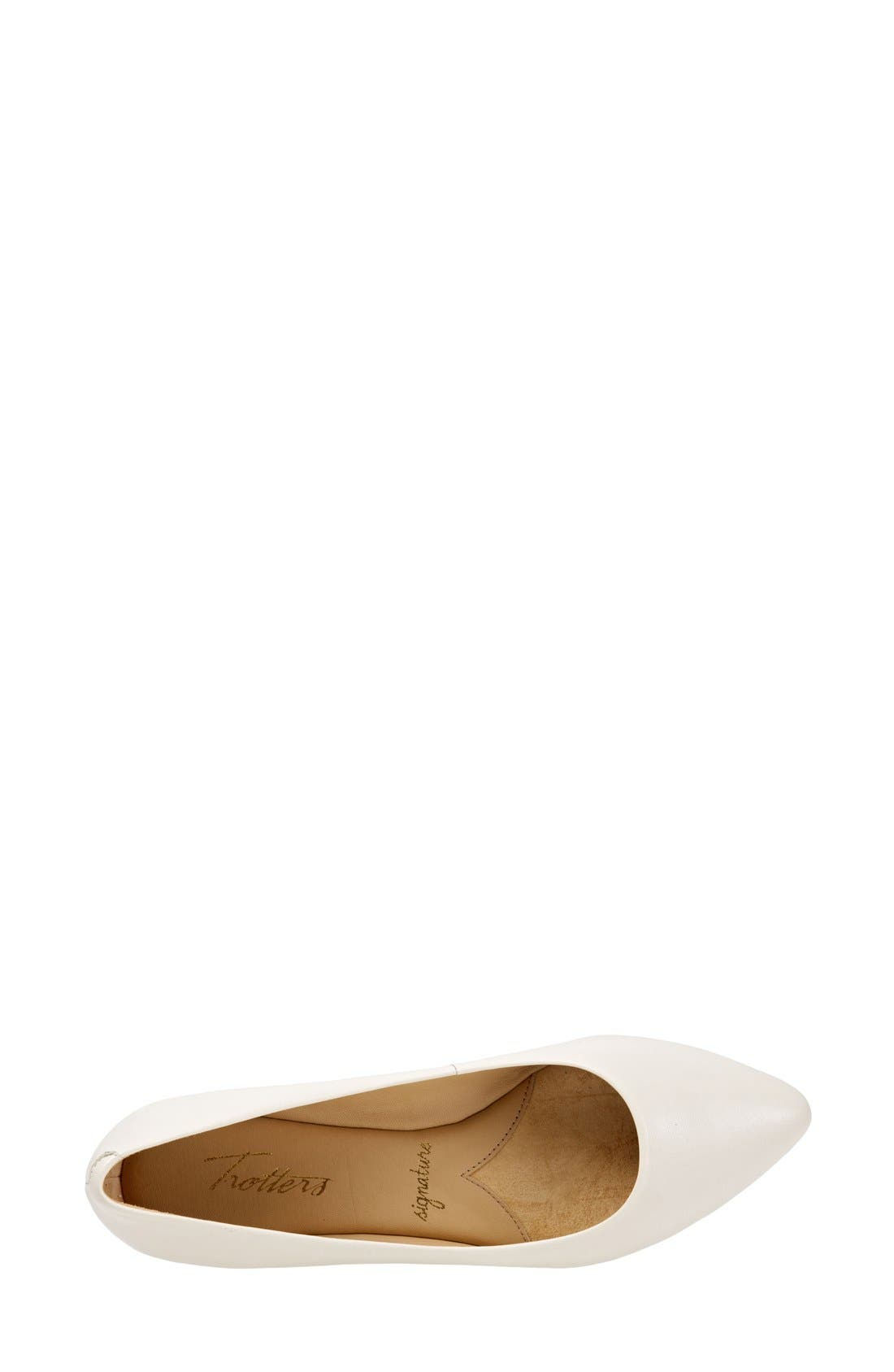 Alternate Image 3  - Trotters Estee Pointed Toe Flat (Women)
