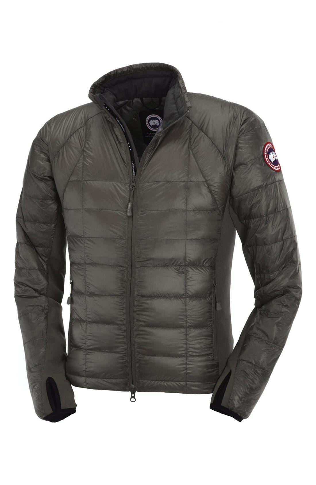 'Hybridge<sup>™</sup> Lite' Slim Fit Packable Jacket,                             Alternate thumbnail 6, color,                             Graphite