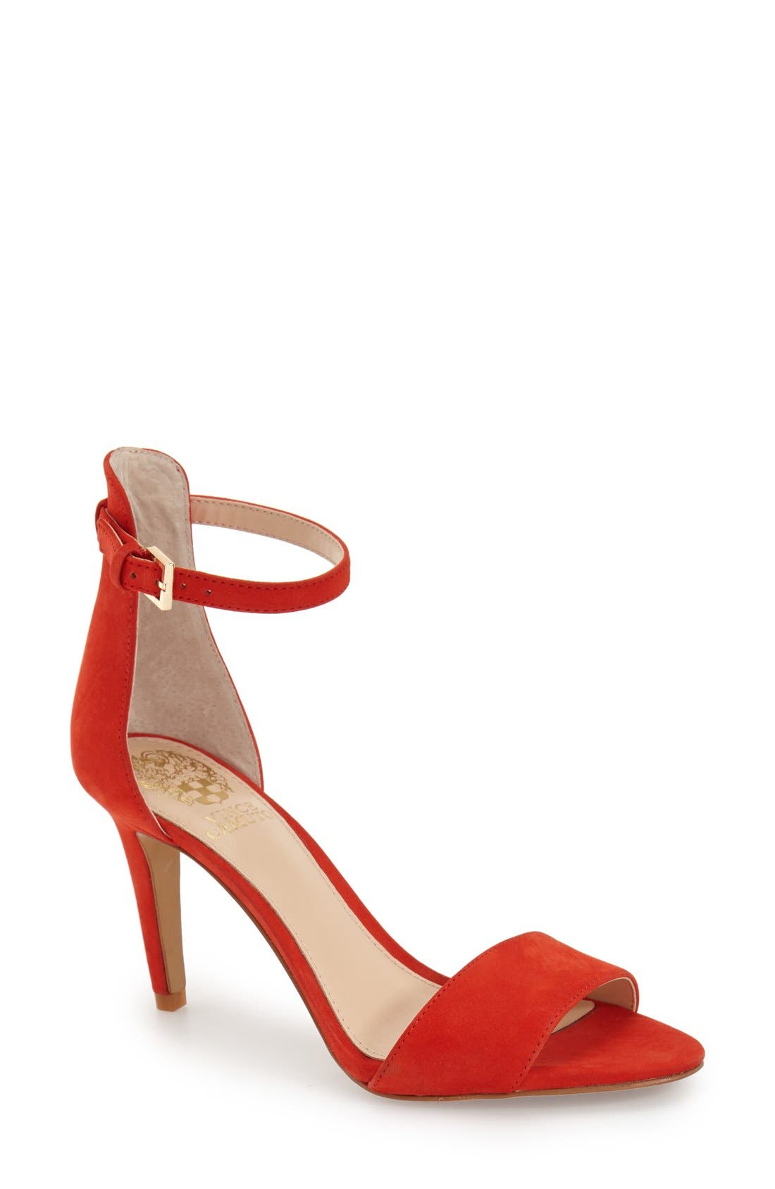 Alternate Image 1 Selected - Vince Camuto 'Court' Ankle Strap Sandal (Women)