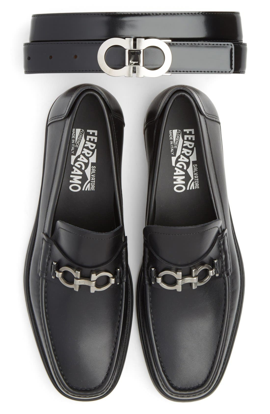 Alternate Image 7  - Salvatore Ferragamo Double Gancio Reversible Leather Belt
