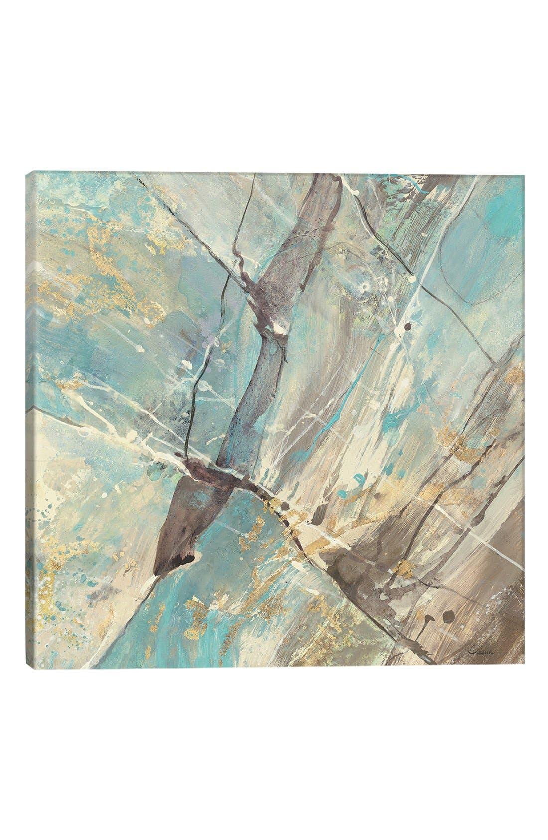 'Blue Water II' Giclée Print Canvas Art,                         Main,                         color, Blue