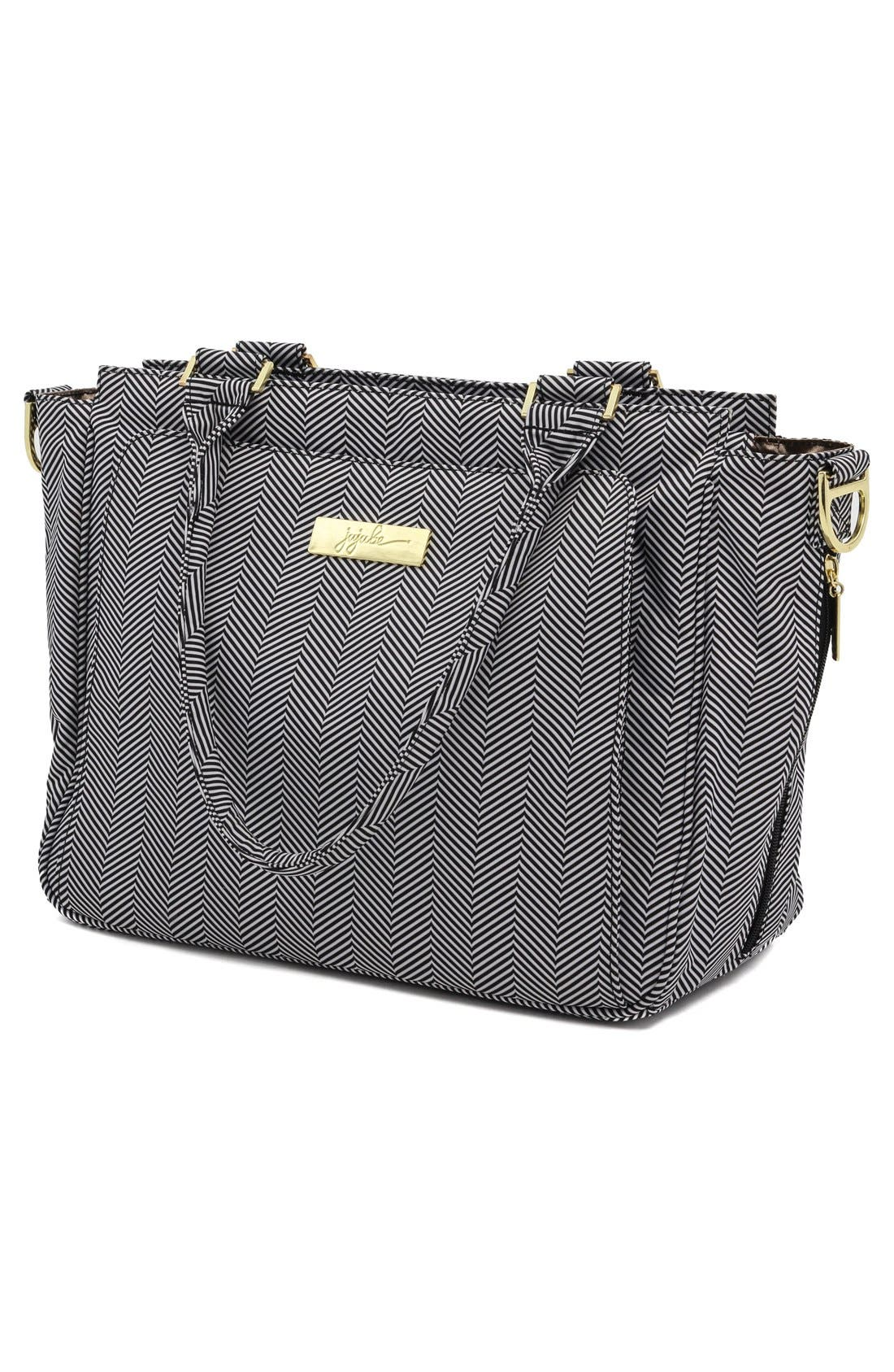 'Be Classy' Messenger Diaper Bag,                             Alternate thumbnail 3, color,                             The Queen Of The Nile