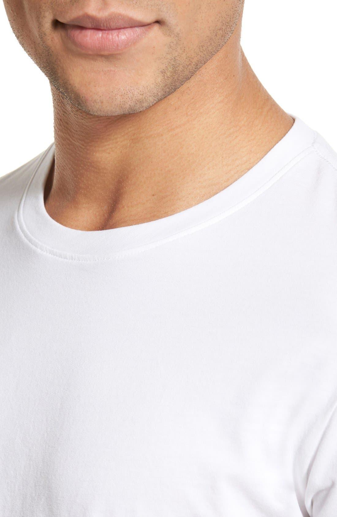 Alternate Image 4  - AG 'Cliff' Crewneck T-Shirt