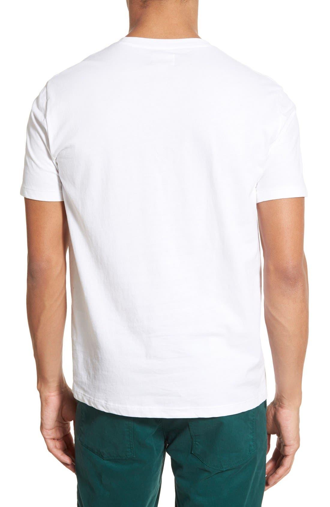 Alternate Image 2  - AG 'Cliff' Crewneck T-Shirt