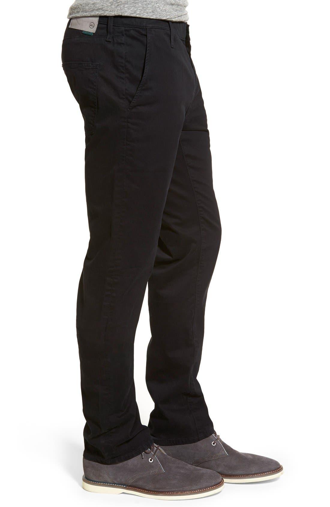 Alternate Image 3  - AG Green Label 'Graduate' Slim Straight Leg Golf Pants