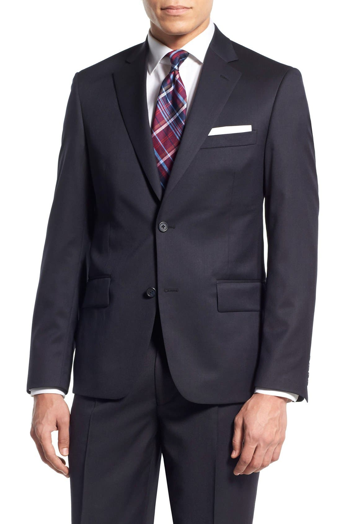 Main Image - Nordstrom Men's Shop Trim Fit Wool Blazer