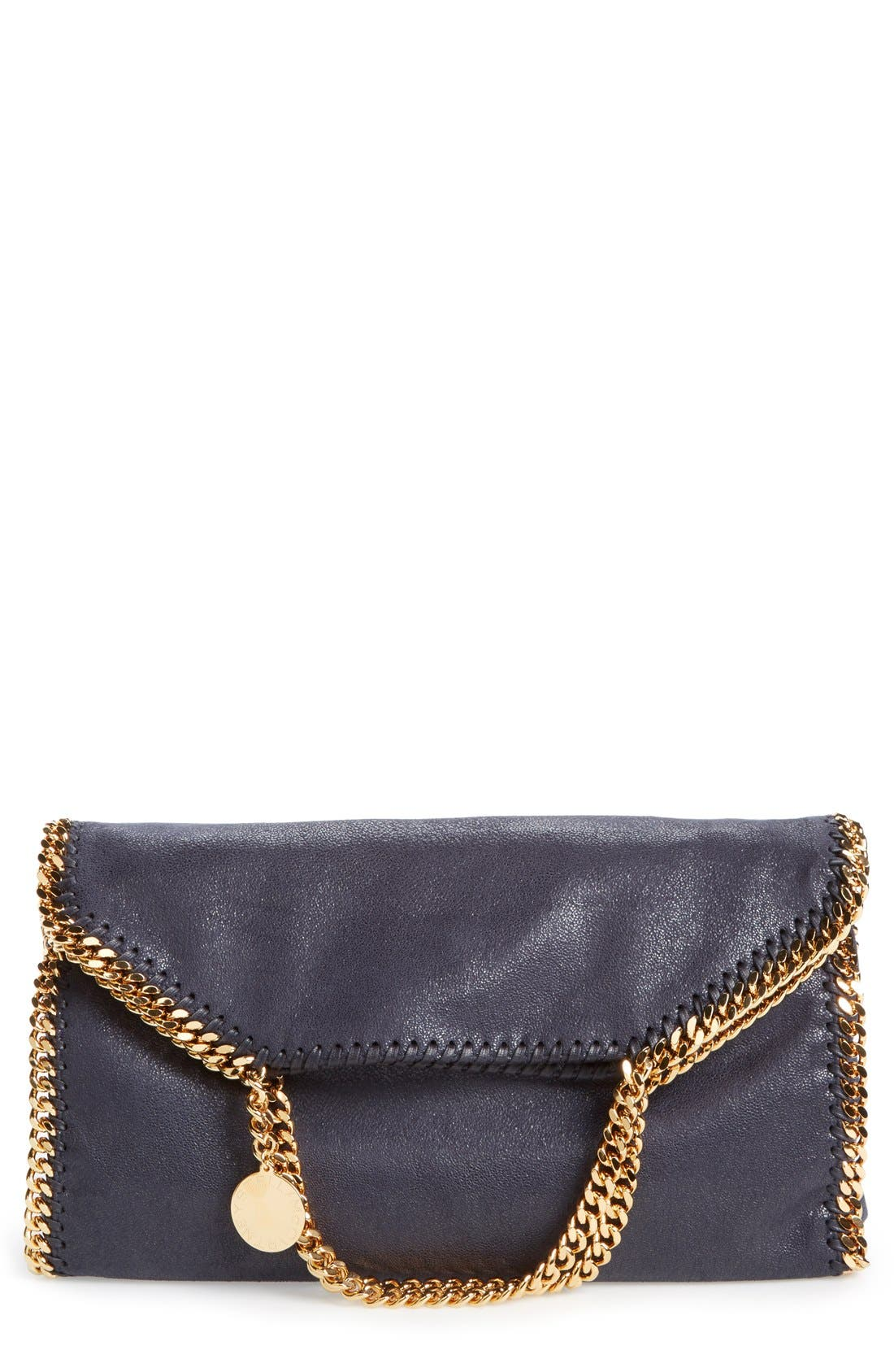Alternate Image 1 Selected - Stella McCartney 'Falabella' Faux Leather Foldover Tote