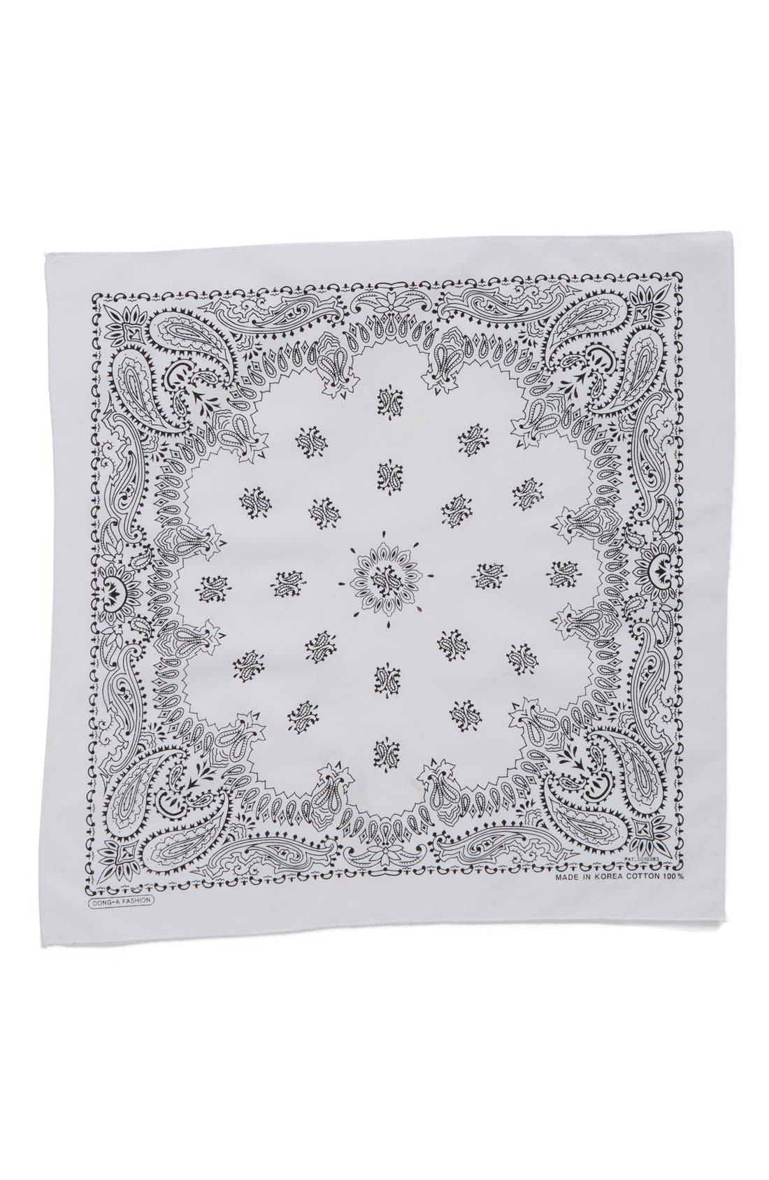 Alternate Image 2  - Cara Cotton Bandana