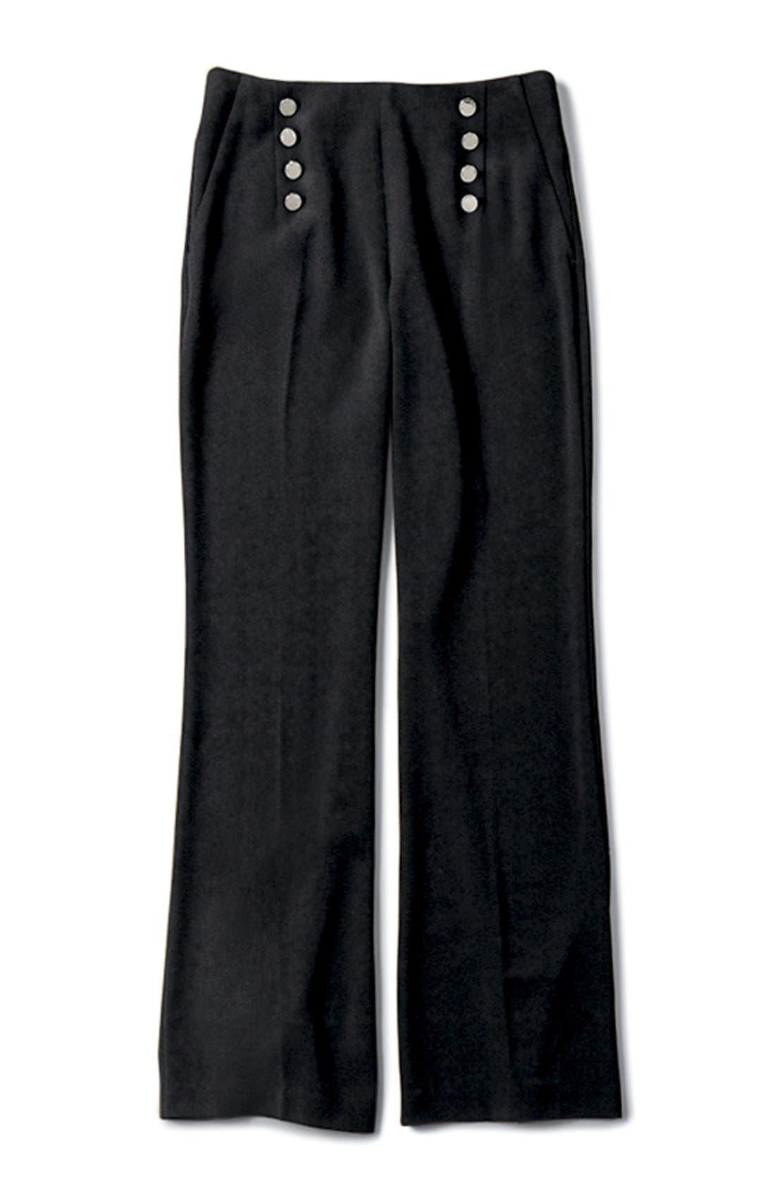 Alternate Image 8  - Vince Camuto High Waist Flare Leg Sailor Pants (Regular & Petite)