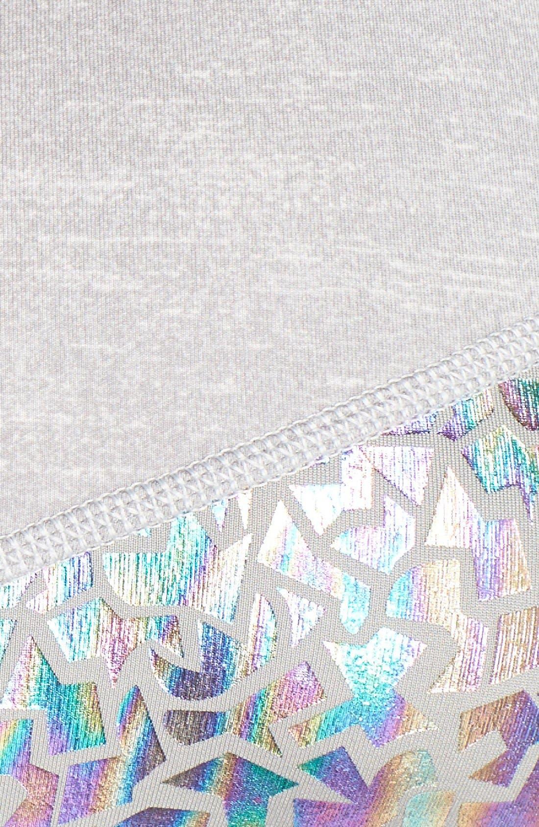 Alternate Image 5  - adidas 'Techfit - Sparkle Motion' Sports Bra