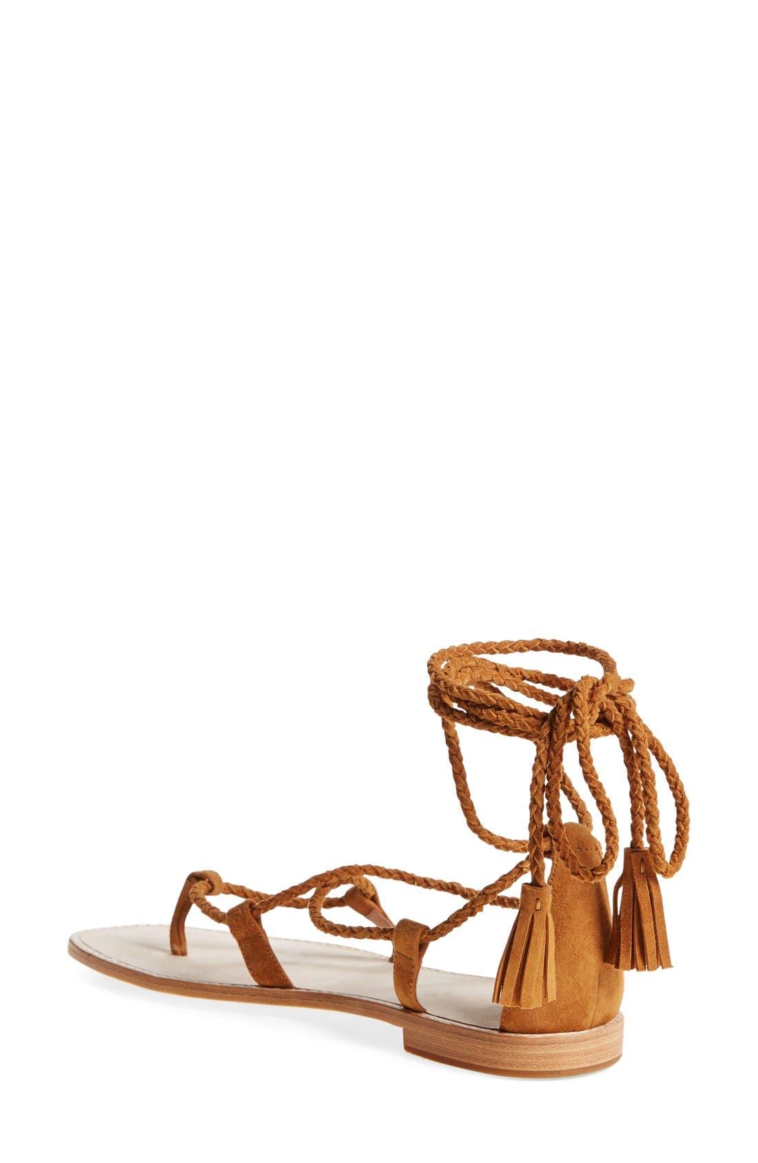 Alternate Image 2  - Joie 'Bailee' Lace-Up Sandal (Women)